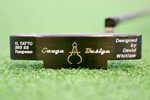 Gauge Design by Whitlam Il Tatto Black 1st Run  Putter