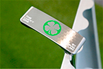 Gauge Design by Whitlam GSS THE LUCKY ONE CLOVER GREEN  Putter