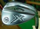 Callaway X Forged Chrome Dynamic Gold